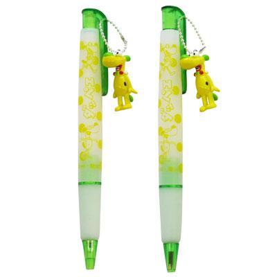 ダッペエ シャープペン、ボールペン サイズ:各縦125×横10mm 小売価格:1個各630円(税込)